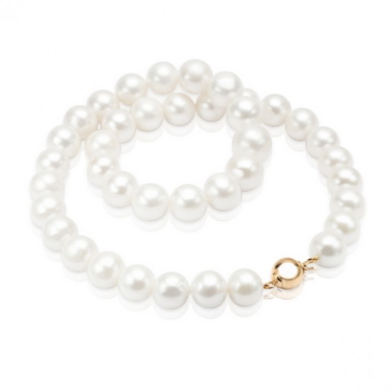 14CT GOLD FRESHWATER PEARL NECKLACE