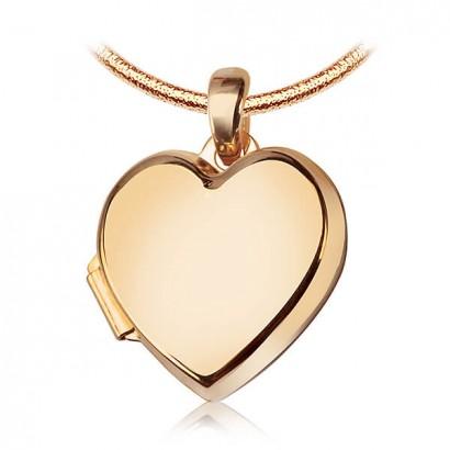 14CT GOLD HEART LOCKET