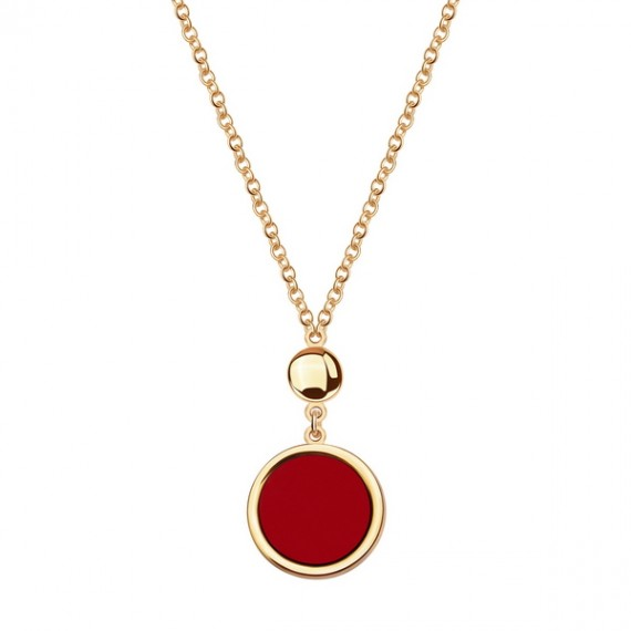 14CT GOLD CORAL NECKLACE