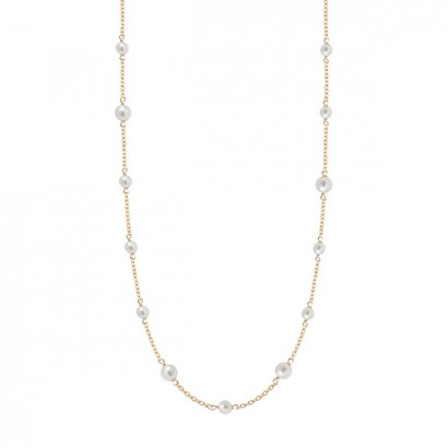 14CT GOLD PEARL NECKLACE
