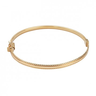 14CT GOLD BANGLE