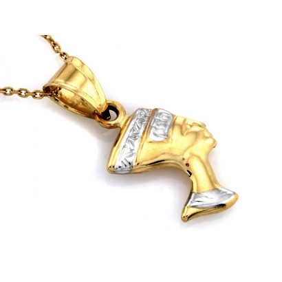 14CT GOLD NEFERTITI NECKLACE