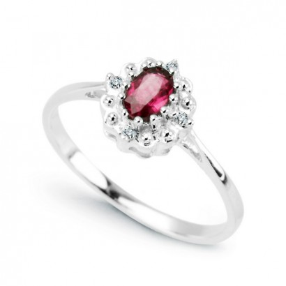 14CT GOLD RUBY RING
