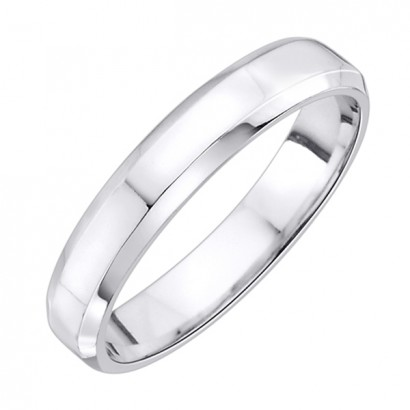 14CT WHITE GOLD WEDDING RING