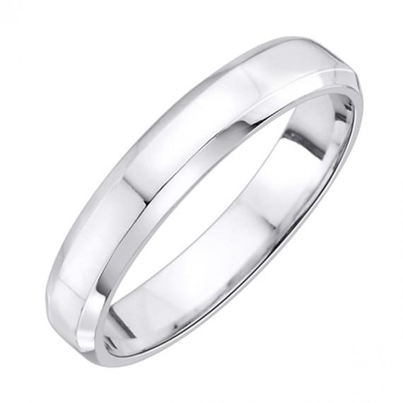 14CT WHITE GOLD WEDDING RING