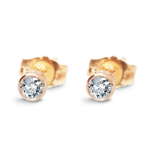 14CT GOLD DIAMOND EARRINGS